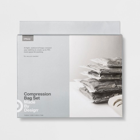 Deluxe Compression Bags 5pk - Made By Design™ - image 1 of 4