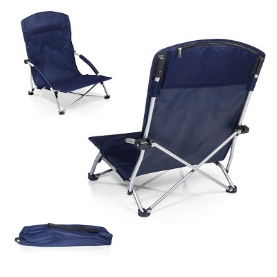 Picnic Time Tranquility Chair with Carrying Case - Navy