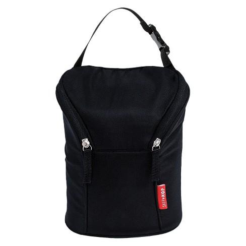 Skip Hop Grab And Go Double Bottle Bag Black