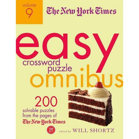 The New York Times Easy Crossword Puzzle Omnibus, Volume 9 - (Paperback) - image 1 of 1
