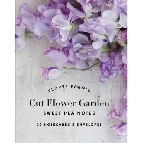 Floret Farms Cut Flower Garden Sweet Pea Notes Notecards