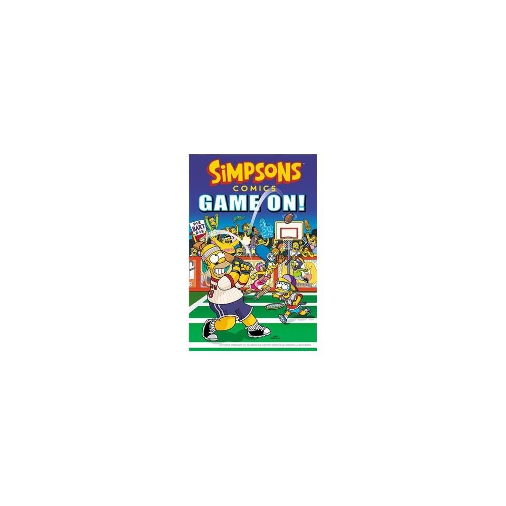 Simpsons Comics Game On! (Paperback) (Matt Groening)