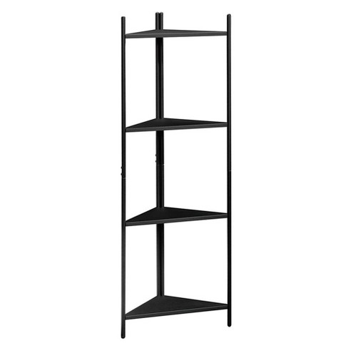 Boulevard Cafe Tower Bookshelf Black - Sauder - image 1 of 4