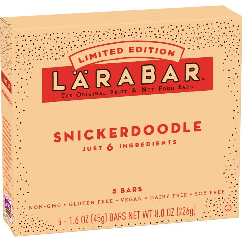 Larabar Snickerdoodle Nutrition Bar - 5 ct - image 1 of 1