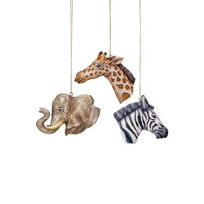 Gallerie II Safari Animal Christmas Xmas Ornament A/3