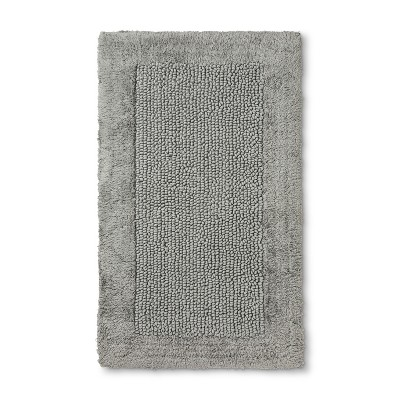 20'X34  Classic Performance Textured Bath Rugs And Mats Classic Gray - Threshold™