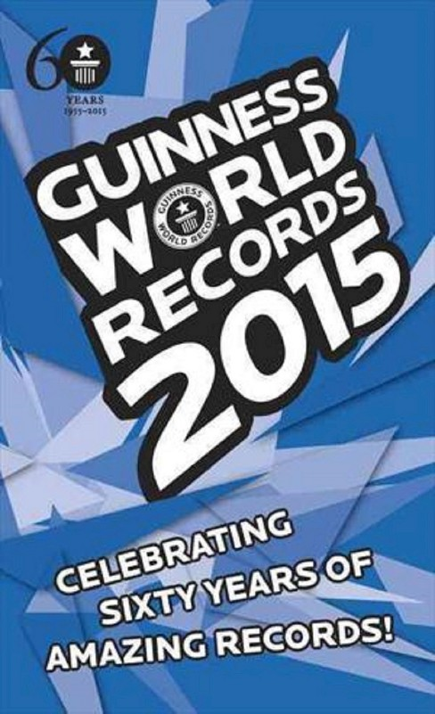 Guinness World Records 2015 (Reissue) (Paperback) - image 1 of 1
