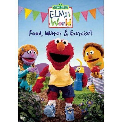 Elmo's World: Food, Water & Exercise (DVD)(2005)
