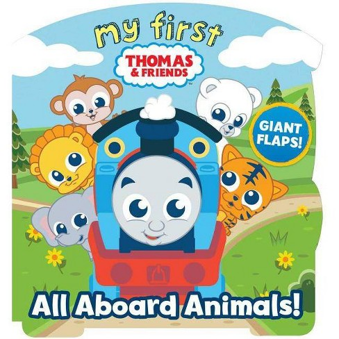 My First Thomas: All Aboard Animals! - by  Maggie Fischer (Board_book) - image 1 of 1