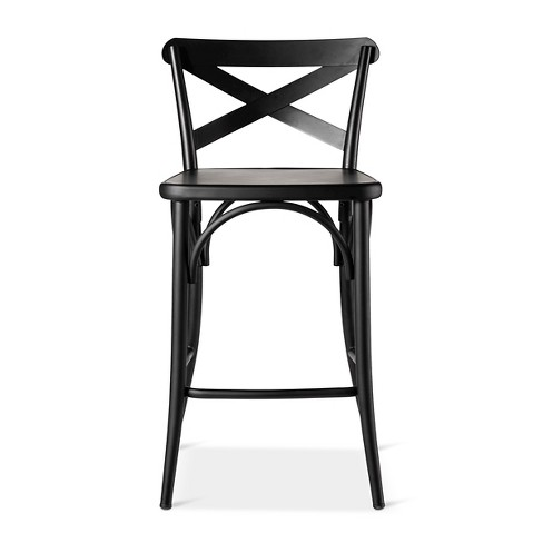 low back counter stools French Bistro 24