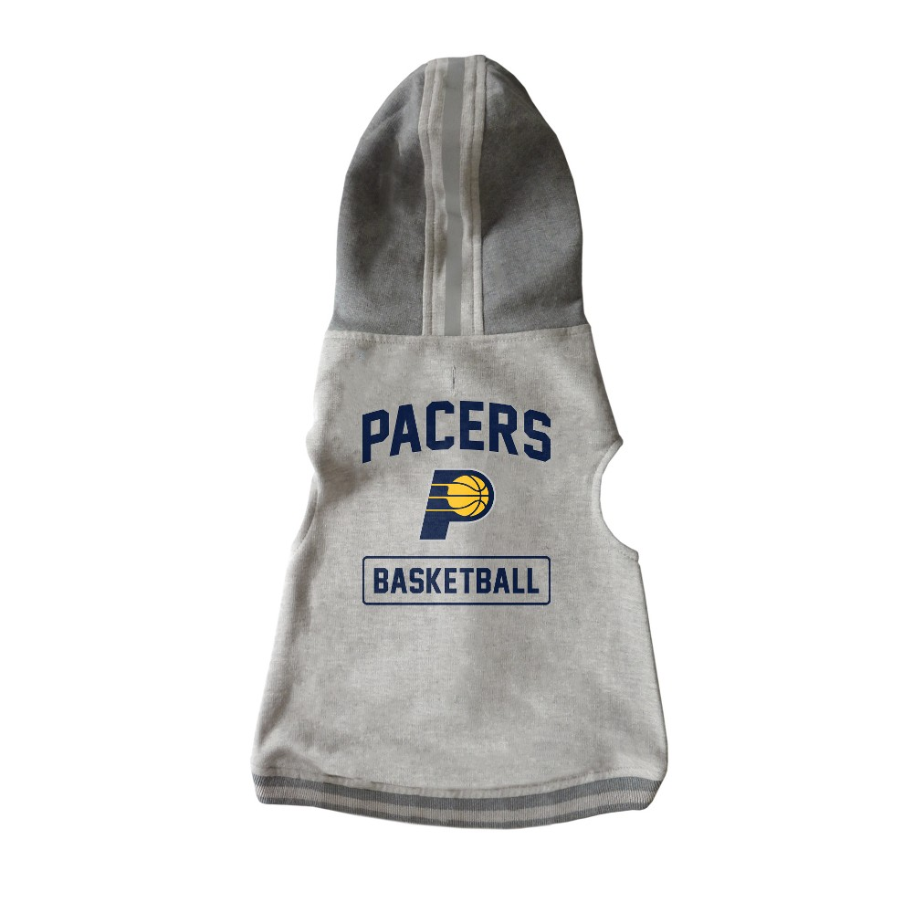 Indiana Pacers Pet Hooded Crew Neck Hoodie - S