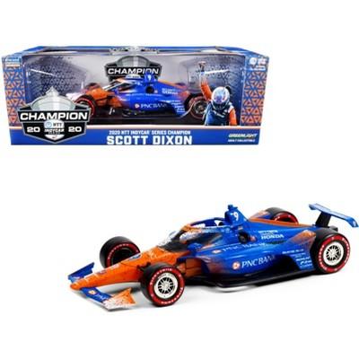"Dallara IndyCar #9 Scott Dixon Champion ""PNC Bank"" Chip Ganassi Racing ""NTT IndyCar"" (2020) 1/18 Diecast Model Car by Greenlight"