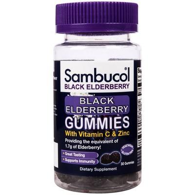 Sambucol Immunity Support Gummies - Black Elderberry - 30ct