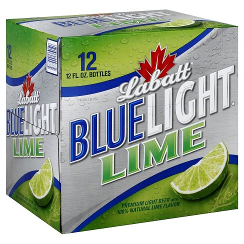 Labatt® Blue Light Lime Beer - 12pk / 12oz Bottles - image 1 of 1