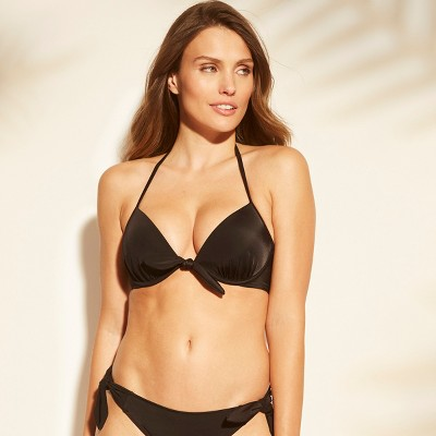 20d5c91aba Women s Shore Lightly Lined Tie Front Bikini Top - Shade ...