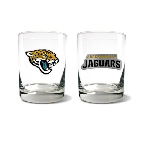 NFL Jacksonville Jaguars Rocks Glass Set - 2pc - image 1 of 1
