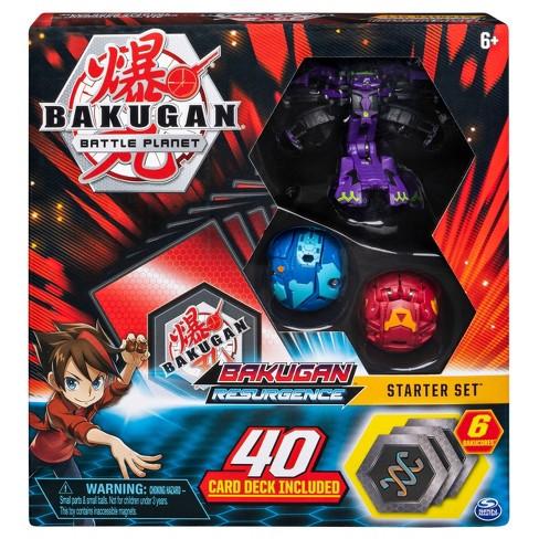 Bakugan Battle Brawlers Starter Set with Bakugan Transforming Creatures Darkus Hydranoid - image 1 of 4