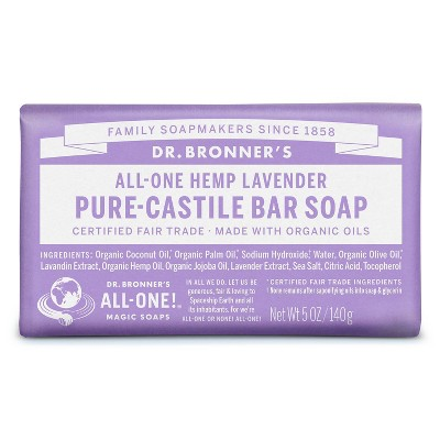 Dr. Bronner's Bar Soap - Lavender - 5oz