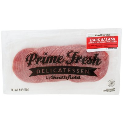 Prime Fresh Hard Salami Slices - 7oz