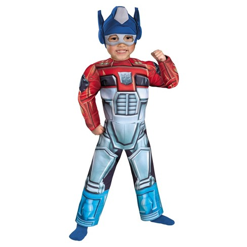Boys' Optimus Prime Rescue Bot Muscle Costume - image 1 of 1