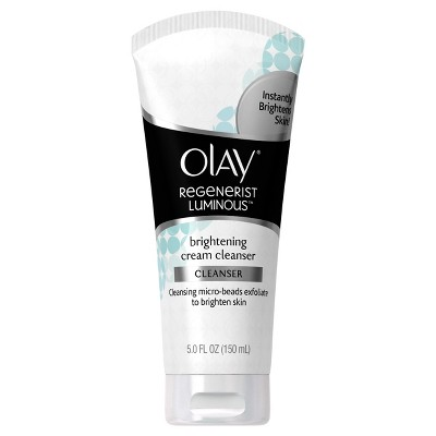 Facial Cleanser: Olay Luminous Brightening Cream Cleanser