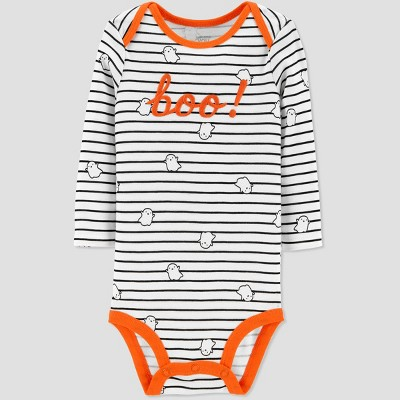 Babys' Halloween Boo Bodysuit - Just One You® made by carter's Cream Newborn