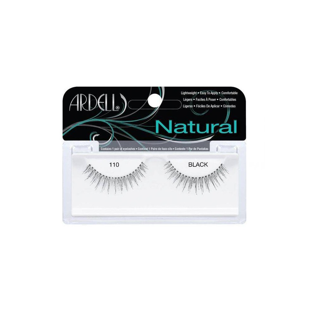 Image of Ardell Eyelash 110 Black - 1ct