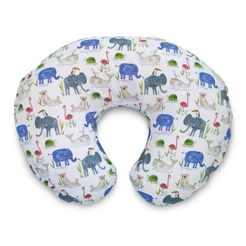 Boppy Nursing Pillow Slipcover - Watercolor Animals - image 1 of 4