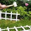 "13"" Cape Cod Style Decorative Fencing , 18 Pc - White - Emsco - image 4 of 4"