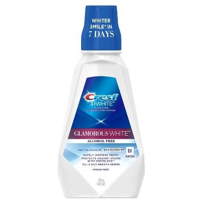 Mouthwash: Crest 3D White Glamorous