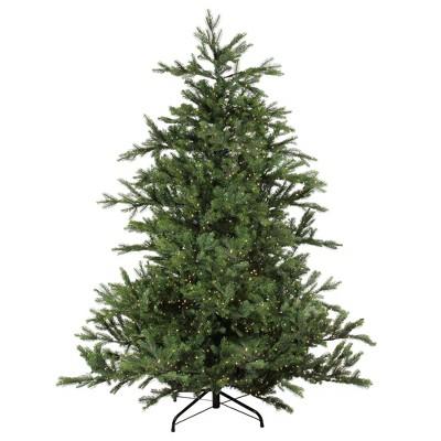 Northlight 7.5' Prelit Artificial Christmas Tree LED Oregon Noble Fir- Warm White Lights