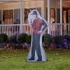 Gemmy Photorealistic Airblown Freddy Kruger S LG WB, 6 ft Tall, grey - image 2 of 2