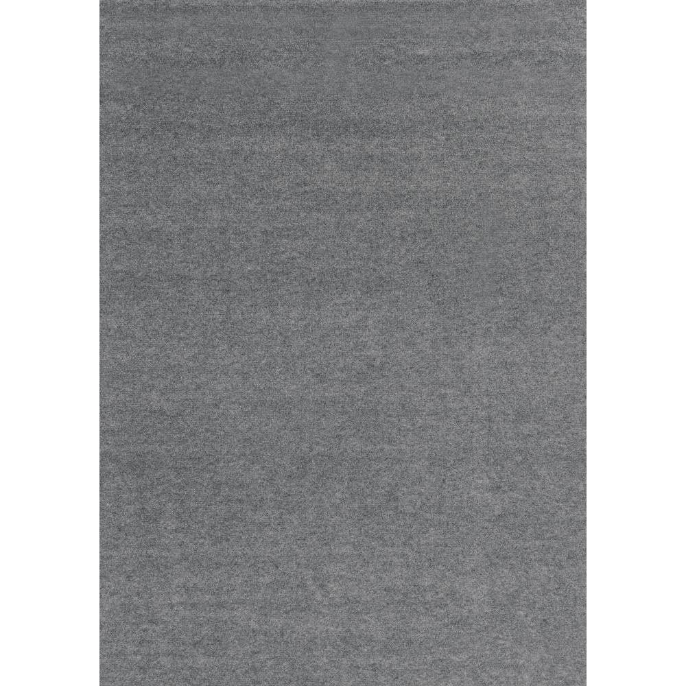 Image of 6' x 8' Rib Indoor/Outdoor Rug Gray - Foss Floors