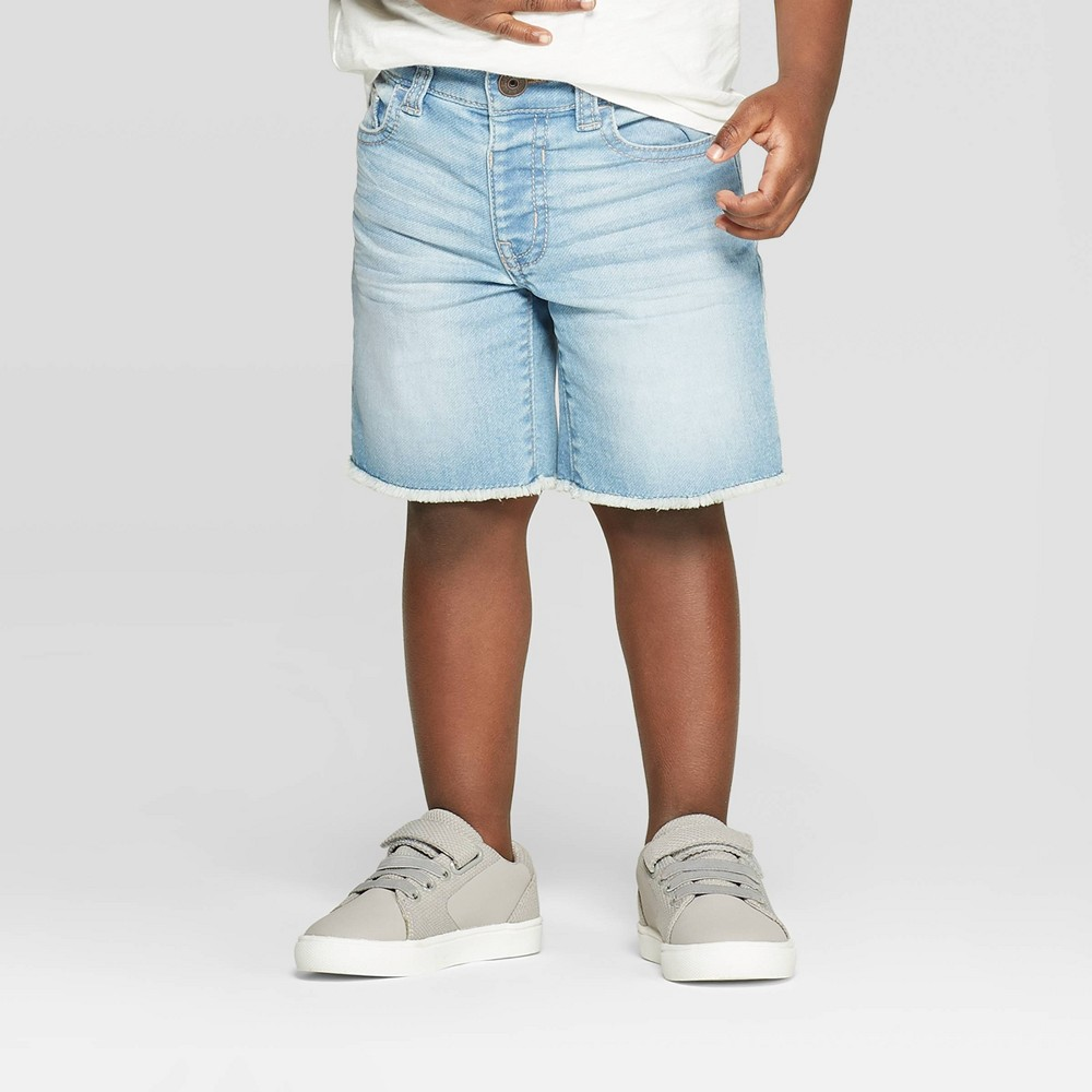 bc62546f03 OshKosh BGosh Toddler Boys Jean Shorts Blue 5T