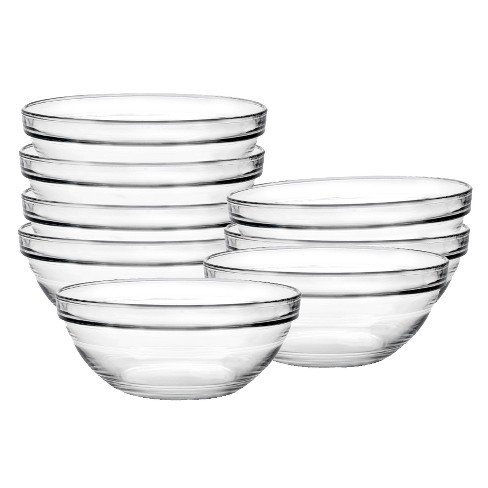 Duralex Chefs 8 pc Glass Condiment Bowl Set - Clear - image 1 of 1