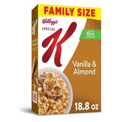 Special K Vanilla Almond Breakfast Cereal - 18.8oz - Kellogg's
