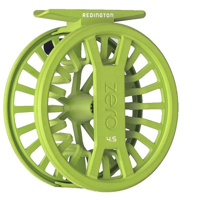 Redington ZERO Unique Super Lightweight Ambidextrous Retrieval Reliable 2/3 Fly Water Fishing Reel, Green