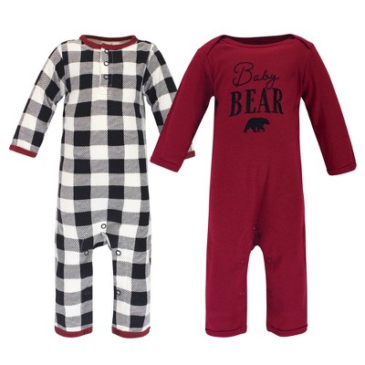 Touched by Nature Baby Unisex Holiday Pajamas, Baby Bear
