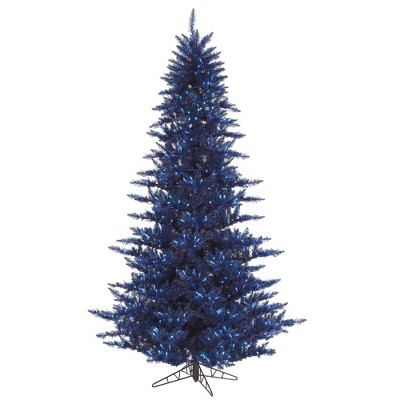 Vickerman Navy Blue Fir Christmas Artificial Tree