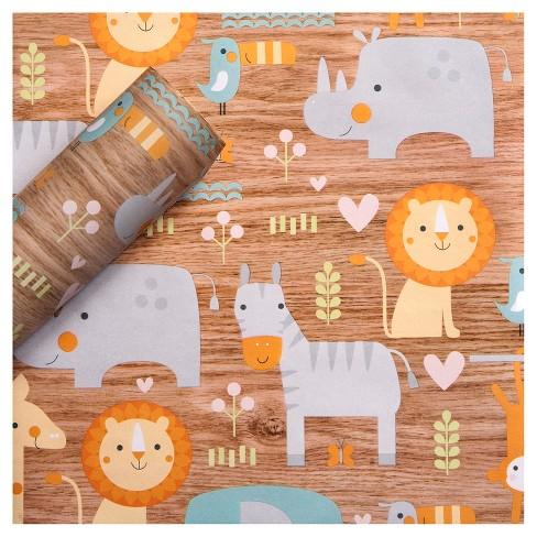 Animal Gift Wrap - Spritz™ - image 1 of 2