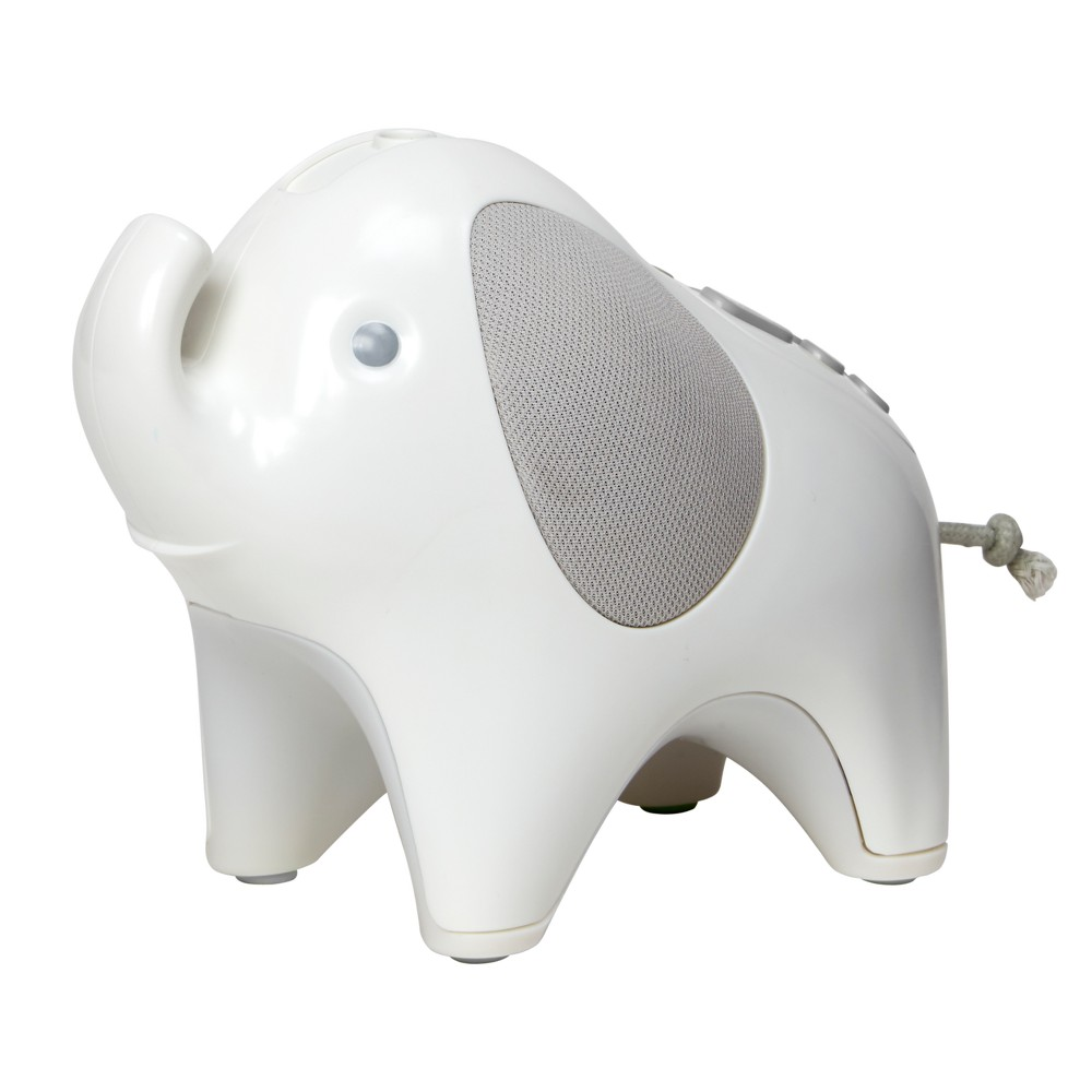 Skip Hop Moonlight & Melodies Elephant Nightlight Soother, White