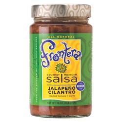 Frontera Salsa Jalapeno Cilantro Medium 16oz