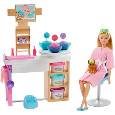 Barbie Spa Day Face Mask Playset