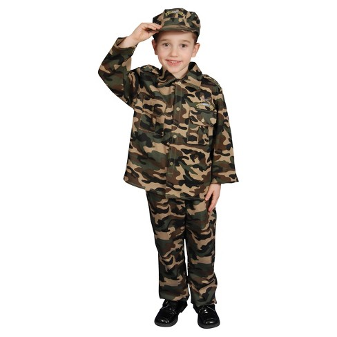 Kids' Army Toddler Costume 3 to 4 - image 1 of 1