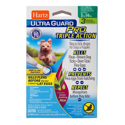 Hartz® UltraGuard Pro® Flea and Tick Treatment Drops for Dogs and Puppies - 3ct - image 1 of 1
