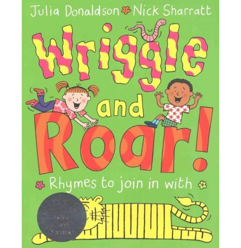 Wriggle and Roar! (Paperback) (Julia Donaldson) - image 1 of 1