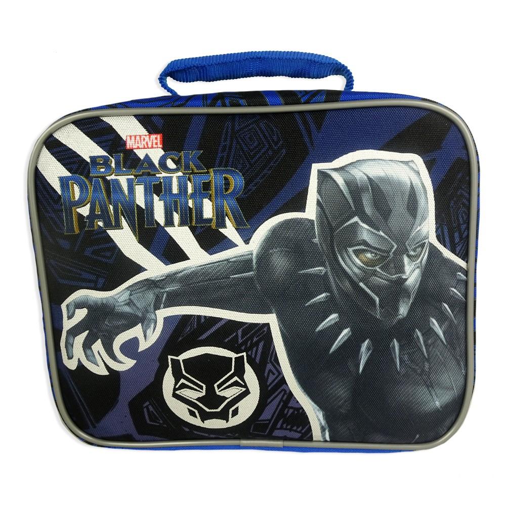 Image of Black Panther Lunch Bag - Black
