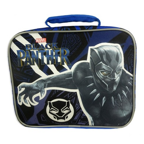 Black Panther Lunch Bag - Black - image 1 of 4