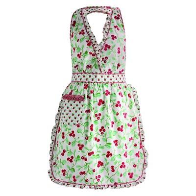 Cheri Cherry Vintage Apron - Design Imports