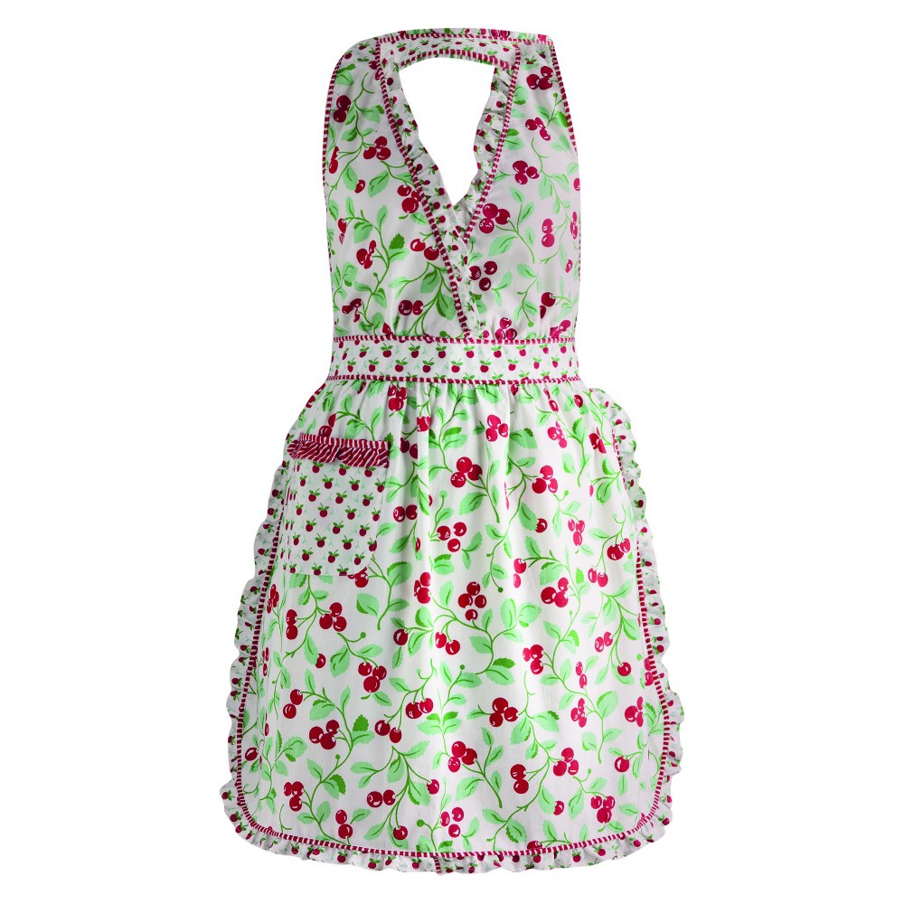 10 Things to Do with Vintage Aprons Cheri Cherry Vintage Apron - Design Imports $29.99 AT vintagedancer.com
